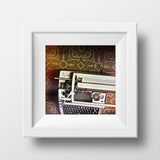 Discontinued Print <br>Vintage Typewriter<br>Various Finishes + Sizes