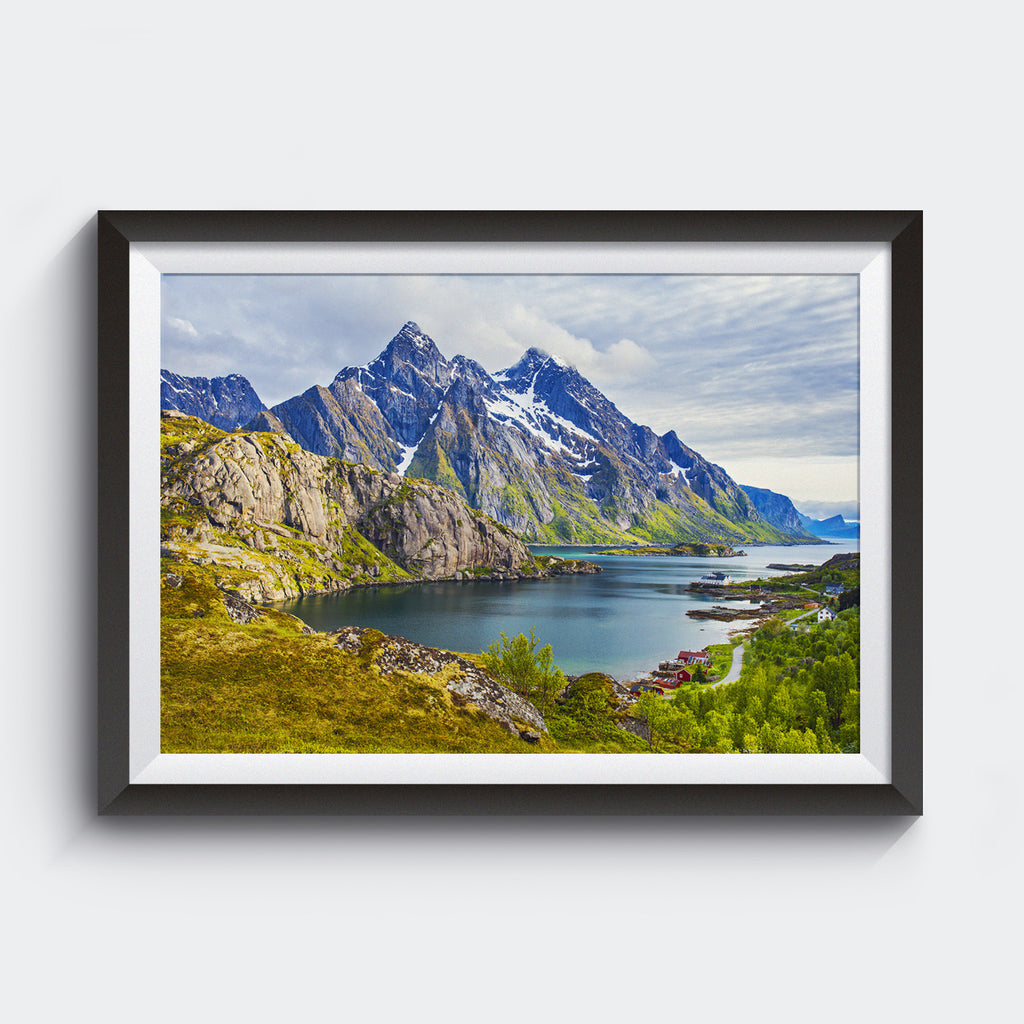 Summer Sunset <br> Unstad Norway<br>Limited Edition Archival<br> Fine Art Chromogenic Print