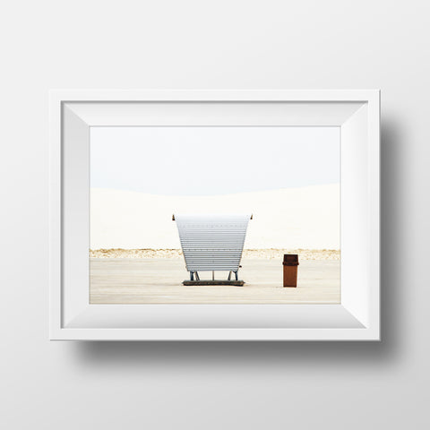Minimal Collection <br> Whitesands New Mexico  <br>Fine Art Chromogenic Print