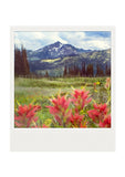SALE<br> Metallic Polaroid Magnet <br>Paintbrushes + Meadows  <br>Wildflowers in B.C
