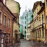 Cobblestone Streets of Tallinn Estonia <br> Archival Fine Art Chromogenic Print