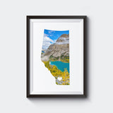 SALE <br> Alberta Province 2 Styles<br> Banff National Park<br> Photo on Birch Wood Panel<br>