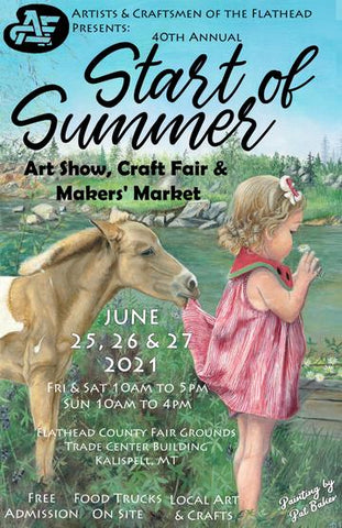 Slammin Jams at the Artists and Craftsmen of the Flathead Summer show 2021