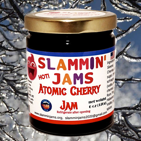Slammin' Jams Atomic Cherry Jam 6 oz