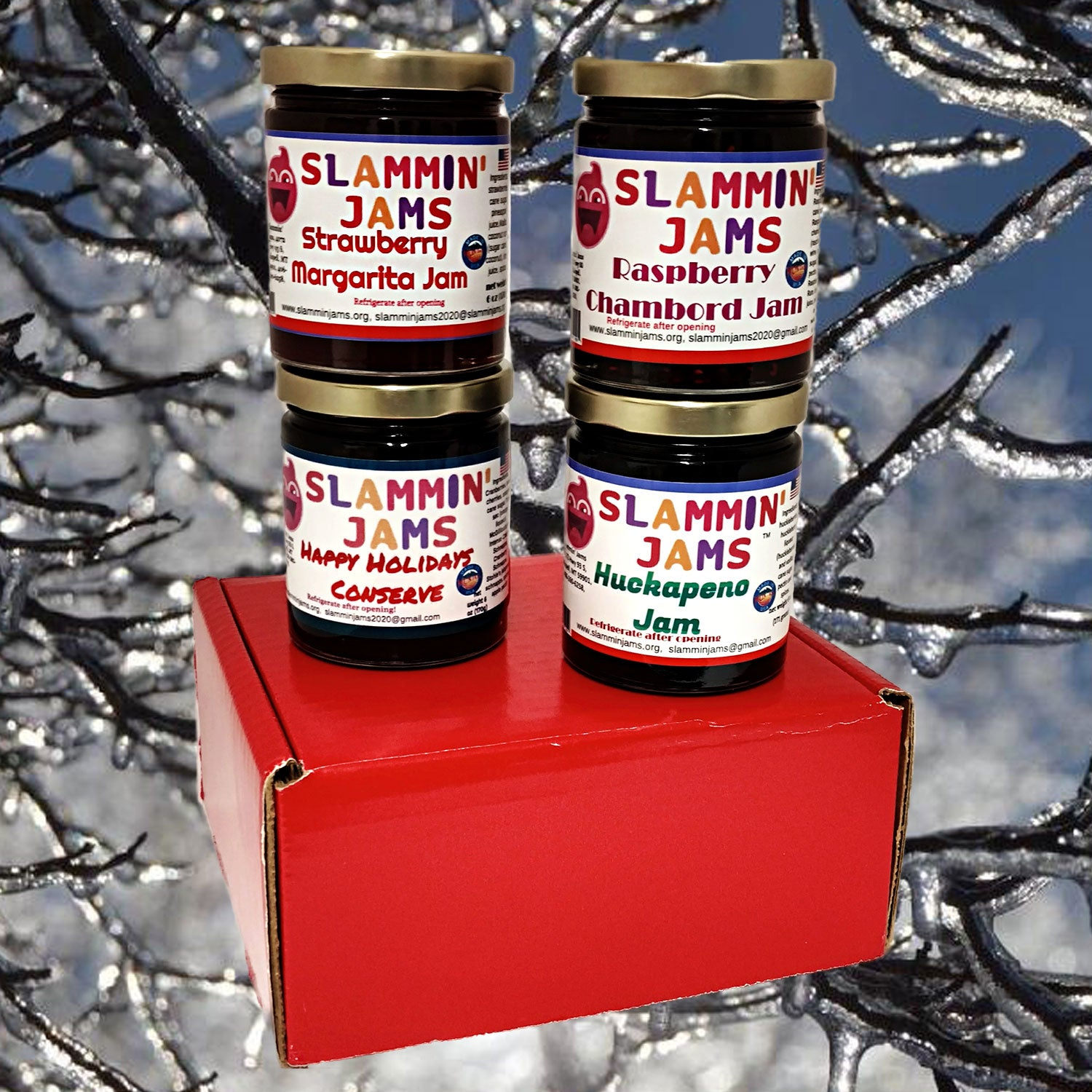 Gift Box of 4 Slammin' Jams