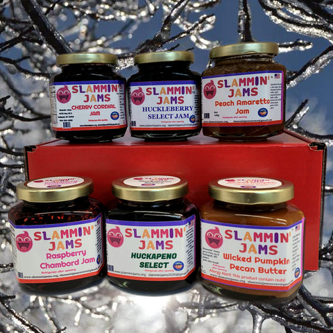 Gift Box of 6 Slammin' Jams