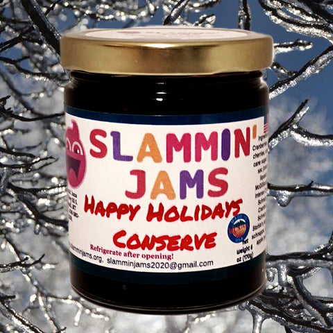 Slammin' Jams Happy Holidays Conserve 6 oz