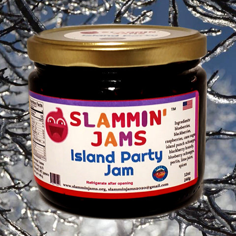Slammin' Jams Island Party Jam 12 oz