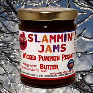 Slammin Jams Wicked Pumpkin Pecan Butter 6 oz