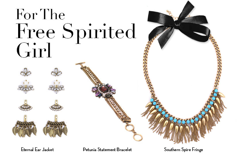 For The Free Spirited Girl