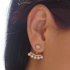 Pearly Sparkly Ear Jacket