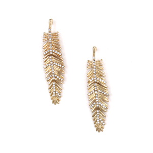 Glitzy Bubbles Earrings - Lemon