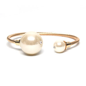 Moonstone Stud Cuff Set