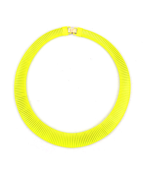 Funky Collar - Yellow
