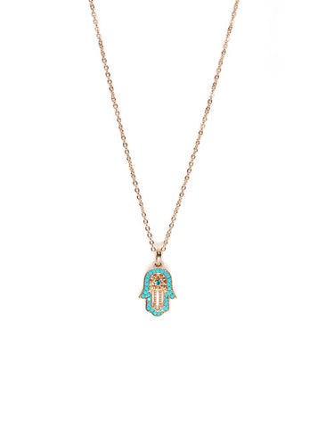 Mini Diamond Hamsa