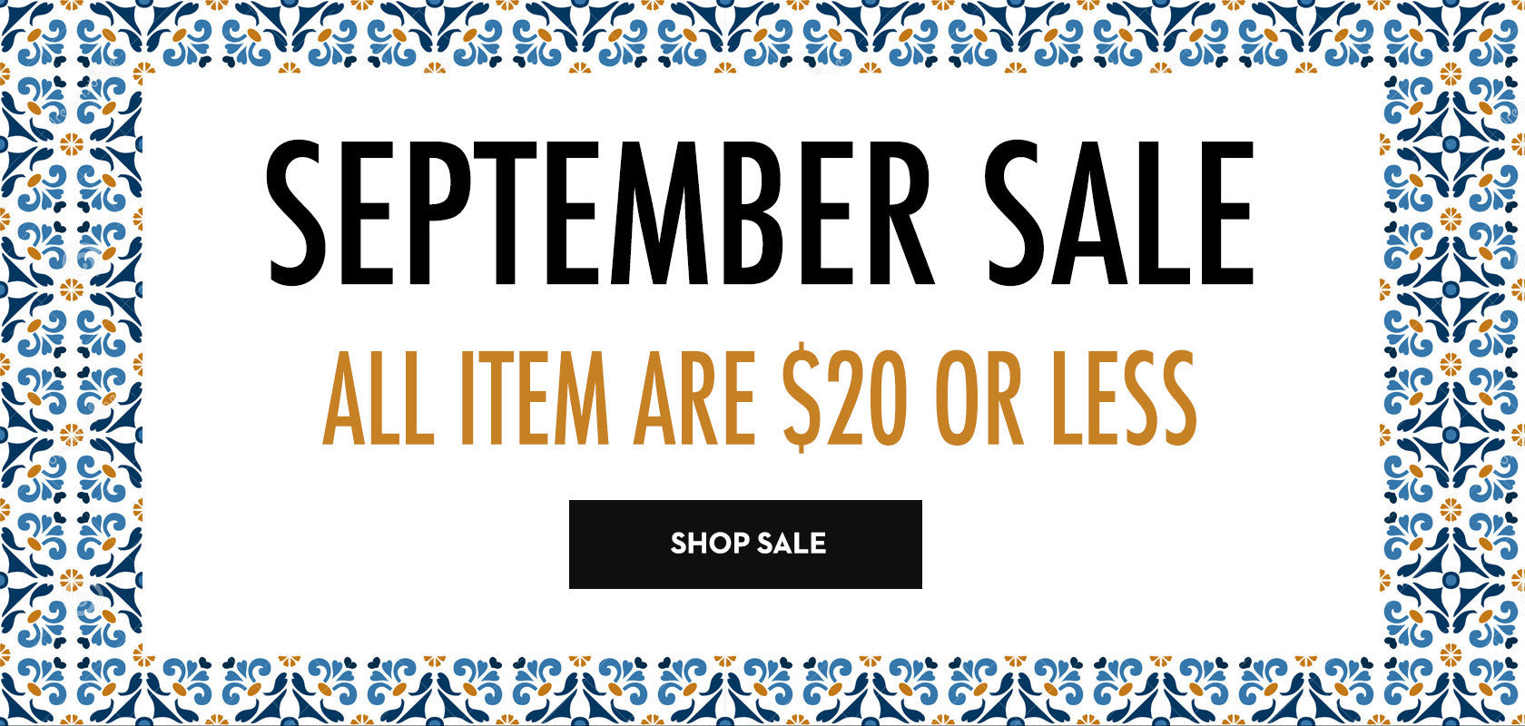 End of Summer Sale - EXTRA 40% off
