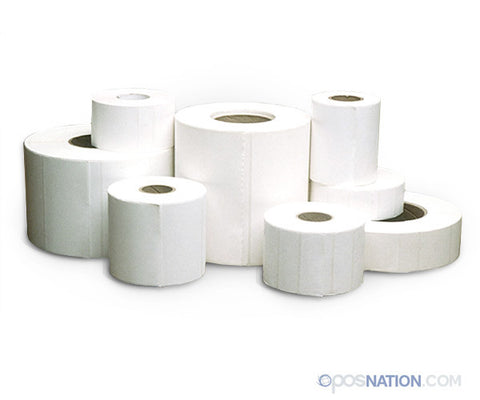 Roll of Split Paper Labels | 1.15 in. x 1 in. DT
