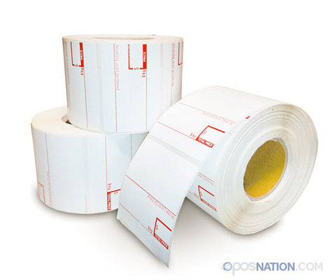 Roll of Safe Handling Labels | 58mm x 60mm