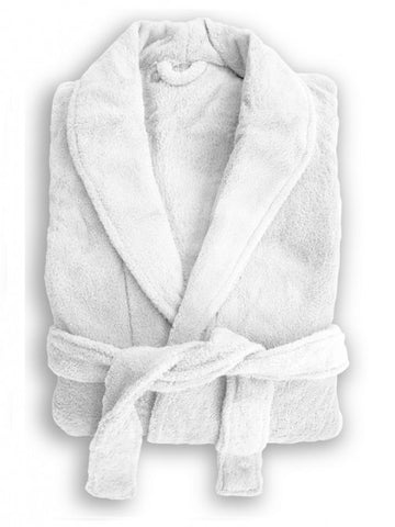 Bambury Microplush Robe White