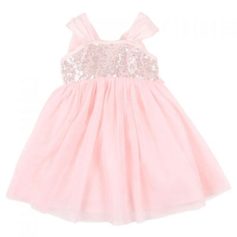 Fox & Finch Savannah Sequin Pink Dress