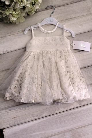 Bebe by Minihaha Tulle Lace Baby Girl Dress