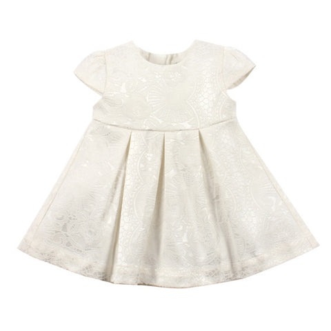 Bebe by Minihaha Jaquard Baby Girl Dress