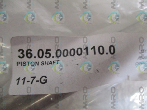 INDUSTRIAL MRO 36.05.0000110.0 PISTON SHAFT *NEW NO BOX*
