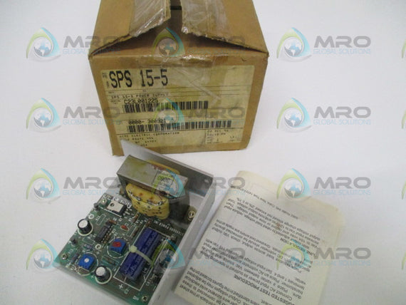 ACME SPS15-5 POWER SUPPLY 115/230V *NEW IN BOX*