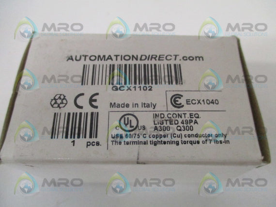 AUTOMATION DIRECT GCX1102 GREEN PUSHBUTTON *NEW IN BOX*