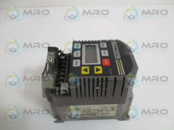 BALDOR ID10401-E AC INVERTER DRIVE 1HP (AS PICTURED) *USED*