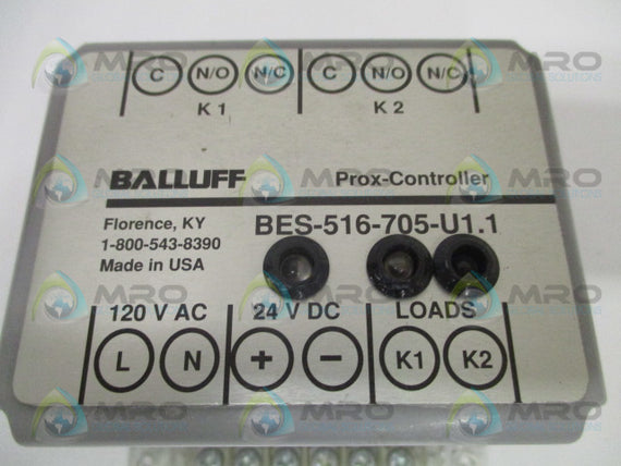 BALLUFF BES-516-705-U1.1 PROXIMITY SWITCH CONTROLLER *NEW NO BOX*