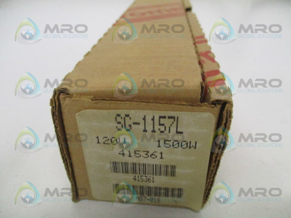 CHROMALOX SG-1157L WATER HEATER ELEMENT 120V 1500W *NEW IN BOX*
