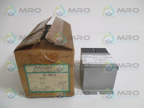 DONGAN 35-M015 SINGLE PHASE GENERAL PURPOSE TRANSFORMER *NEW IN BOX*