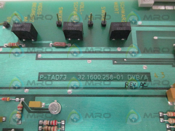 ECA 32.1600.258-01 MODULE BOARD *NEW NO BOX*