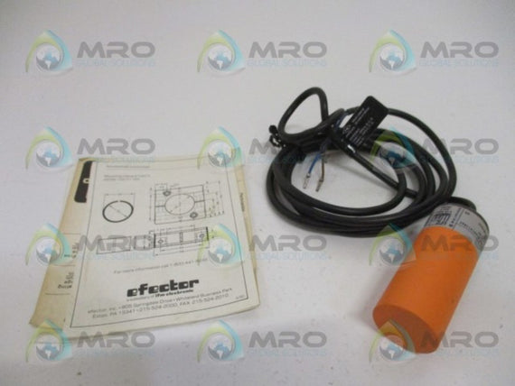 IFM EFECTOR KB5002 CAPACITIVE SENSOR *NEW IN BOX*