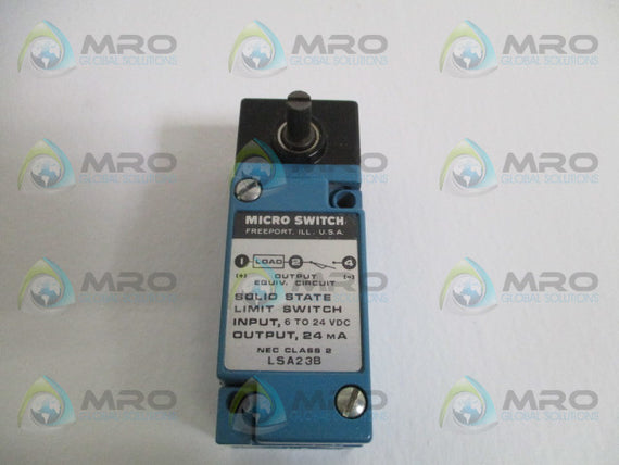 MICROSWITCH LSA23B SOLID STATE LIMIT SWITCH *NEW IN BOX*
