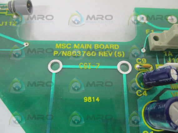 MSC 803760 MAIN BOARD *NEW NO BOX*