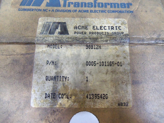 ACME ELECTRIC 0005-101165-01 *NEW IN BOX*