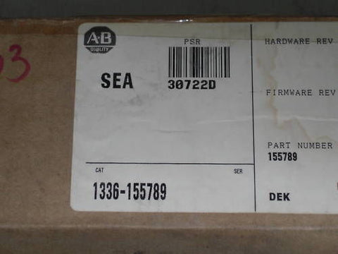 ALLEN BRADLEY  1336-155789 SP-155789 ASSEMBLY KIT *NEW IN BOX*