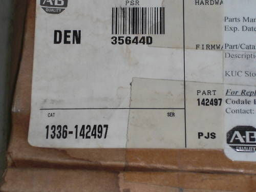 ALLEN BRADLEY  1336-142497 SP-142497 ASSEMBLY KIT *NEW IN BOX*