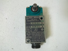 ALLEN BRADLEY 802M-AJ1 SER.D LIMIT SWITCH *USED*
