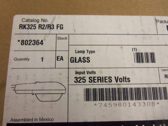 AMERICAN RK325 R2/R3 FG LAMP GLASS *NEW IN BOX*