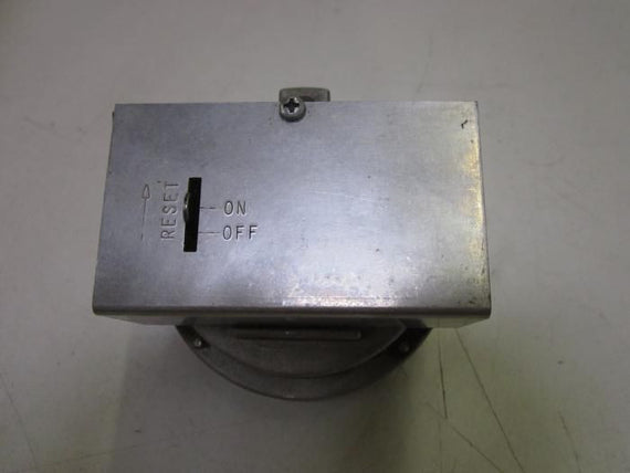 ANTUNES CONTROL HGP-A HIGH PRESSURE SWITCH *USED*