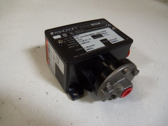 ASHCROFT B424V PRESSURE SWITCH 15 PSI *NEW IN BOX*