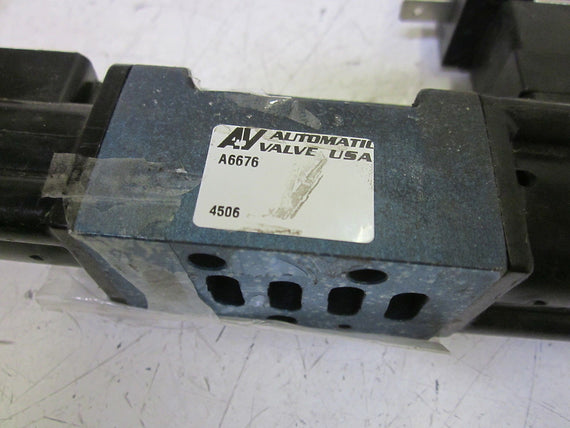 AUTOMATIC VALVE A6676 SOLENOID VALVE *NEW NO BOX*