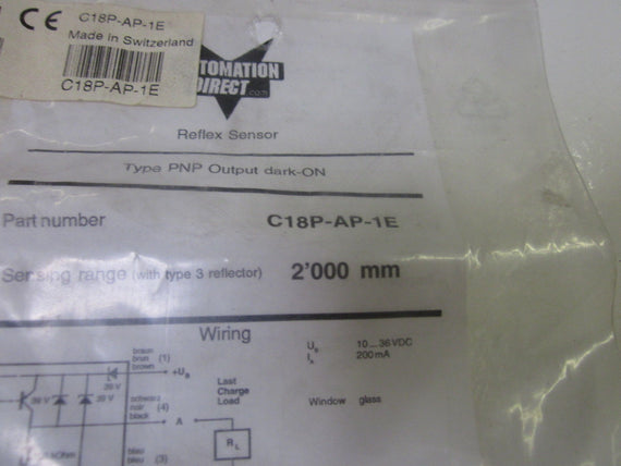 AUTOMATION DIRECT C18P-AP-1E *NEW IN A FACTORY BAG*