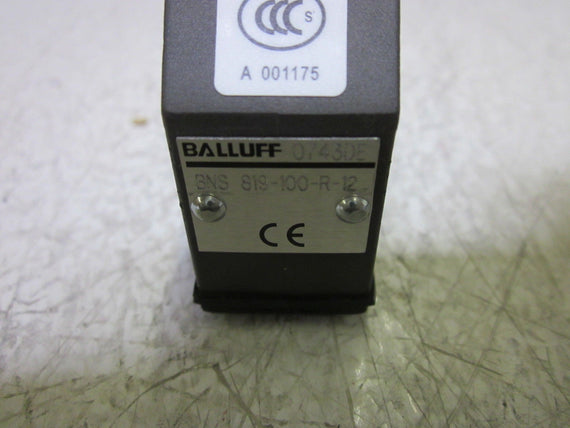 BALLUFF BNS 819-100-R-12 LIMIT SWITCH *NEW NO BOX*