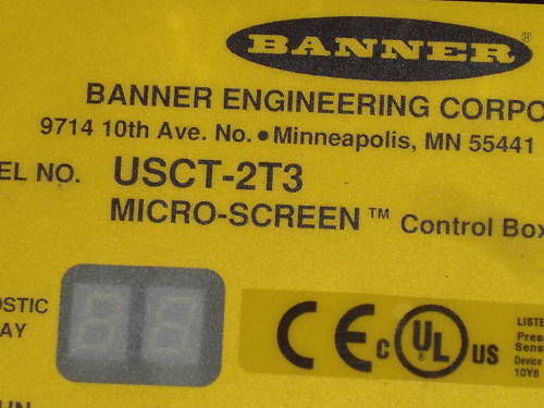 BANNER ENGINEERING USCT-2T3 CONTROL BOX *NEW IN BOX*