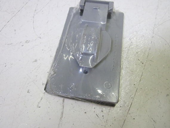 BELL 51550 SINGLE-GANG DEVICE COVER *NEW NO BOX*