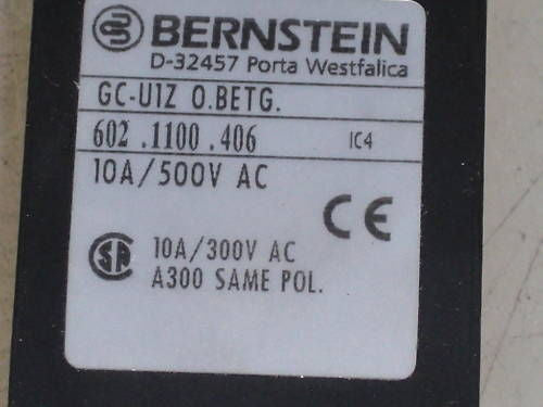 BERNSTEIN GC-U1Z 0.BETG *NEW IN BOX*